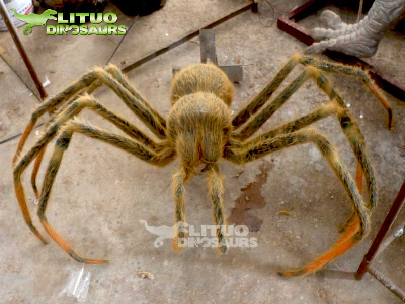 Giant Size Animatronic Simulation Insect Model of Robotic Spider