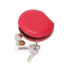 Fashion Wommen Round Coin Wallet, PU Leather Coin Purse