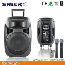 2.1 channel speakers subwoofer 15 inch built-in 120w with bluetooth