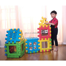 Good quality large plastic building blocks for baby children educational toys