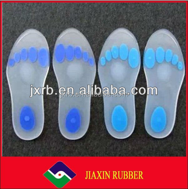 gel silicone orthopedic shoe pad insole manufacturers/Buy silicone gel heel pad