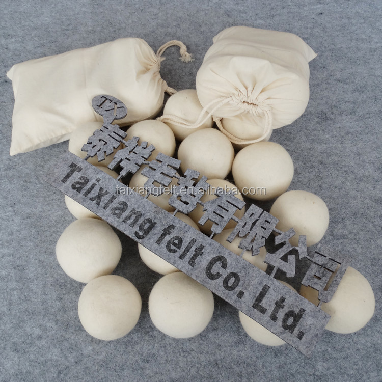 Eco-friendly 100% New Zealand Wool Dryer Balls