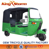 2015 hot sale new model 3/4/5 seat covered passenger used tricycle for sale