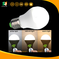 Fast shipping china manufacturer E27 remote controlling dimmable led bulbs