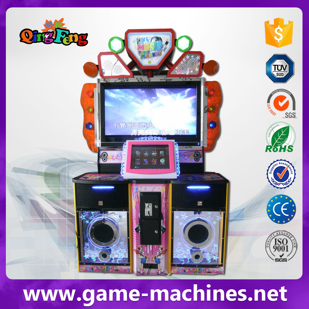 Qingfeng awesome coin operated karaoke jukebox/digital jukebox