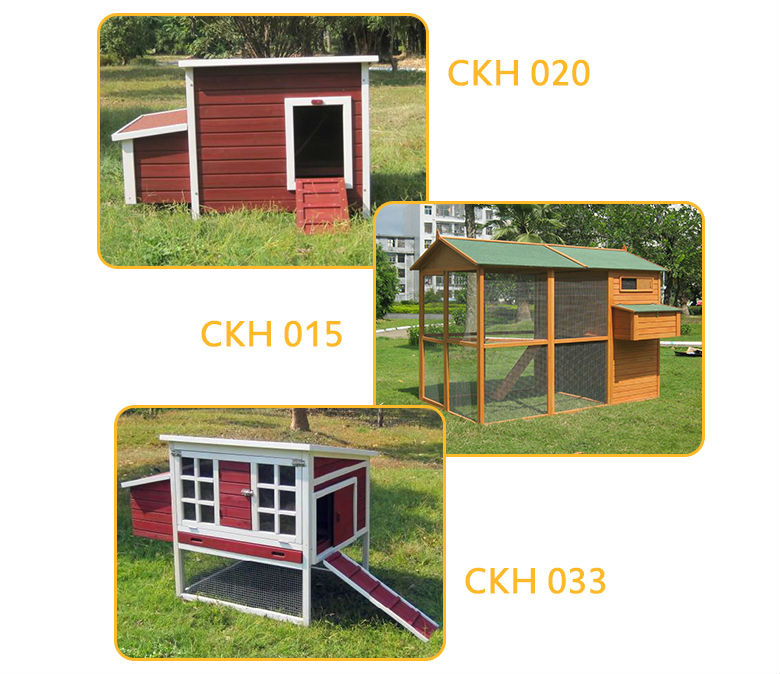 House cage for wooden egg laying chicken coop