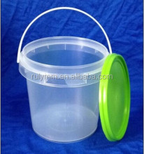 1L round olive oil plastic barrel