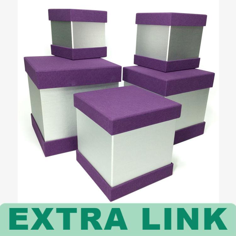 personnalisé grand papier à usages multiples boîte de rangement