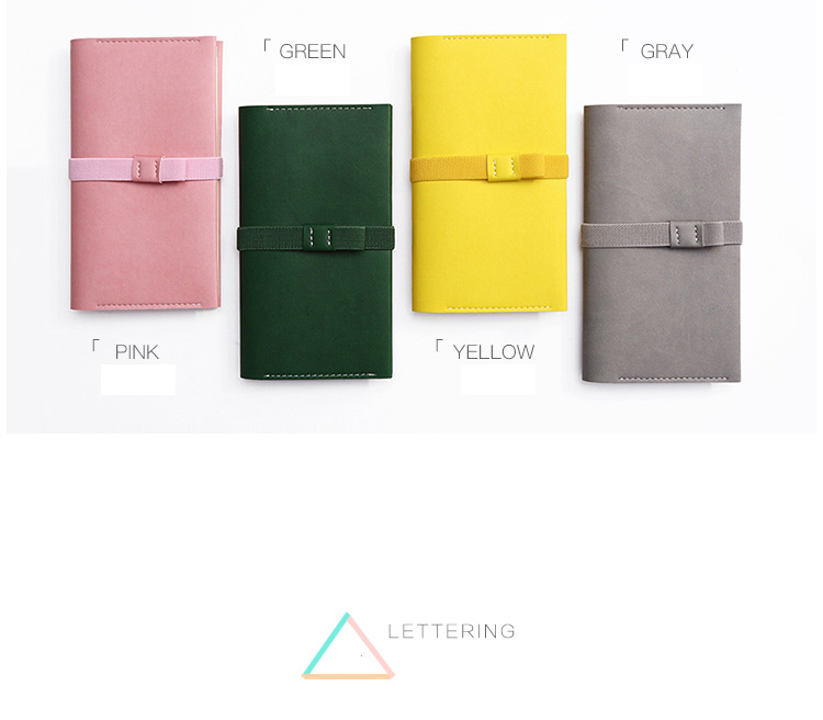 2017 soft cover notebook A6 planner hotsell FB1622