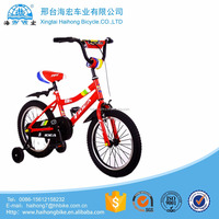 High quality 18inch sports racing kids bicycle/baby velo pictureswith 4 wheels