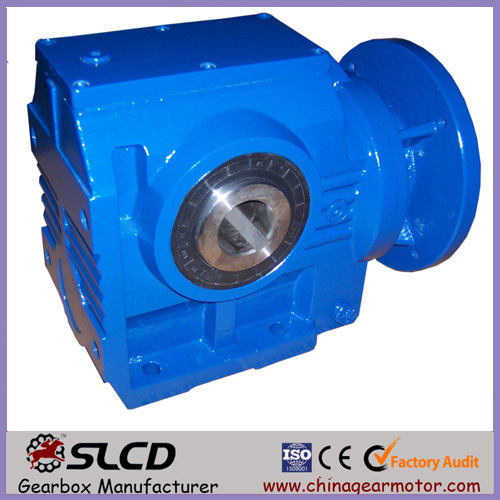 helical worm gearbox unitfor conveyor,helical worm gearbox for material hoist,vertical mounted geared reducer for wood chipper