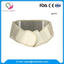 Quality first self-heating magnetic waist support
