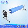 saving labour, swimming pool cover reel, pool cover collector