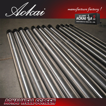 stainless steel screw press wrapped wire drum screen