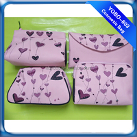 The beautiful girls cosmetic bags