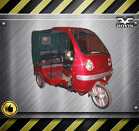 Hot sale in Africa new design fashion three wheel taxi car with cabin