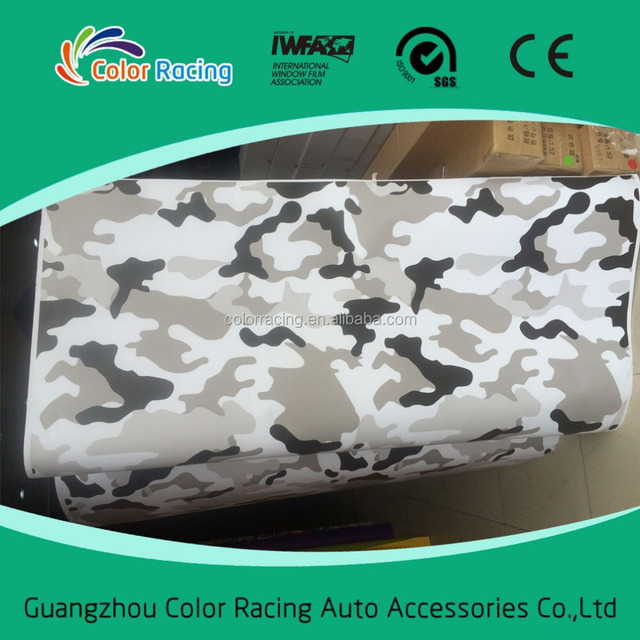 1.52x30m Wrapping Film Camouflage Car Self Adhesive Vinyl