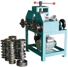 Factory direct sales HHW-G76 Rolling stainless steel pipe bending machine with square and round pipe