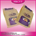 Custom Design Stand up Pet Food Bags with Ziplock with high quality