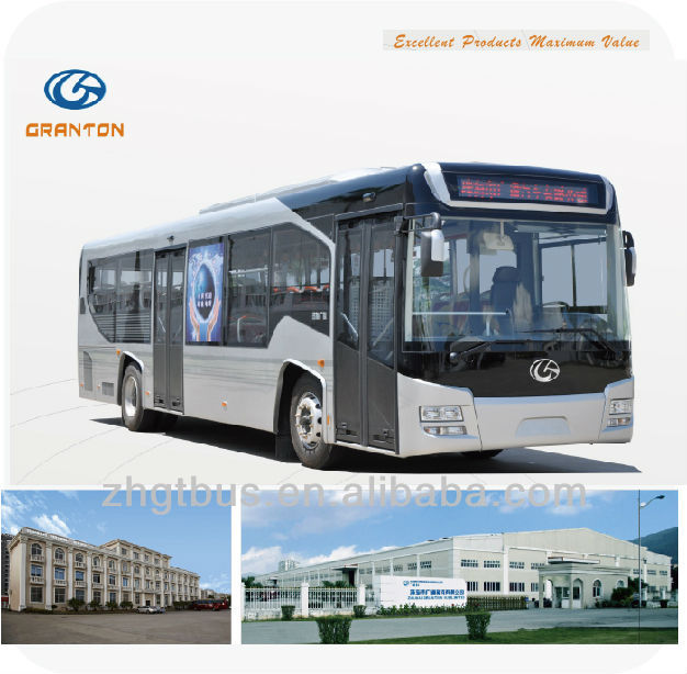 11m china produced new energy LNG city bus GTZ6107 for sale