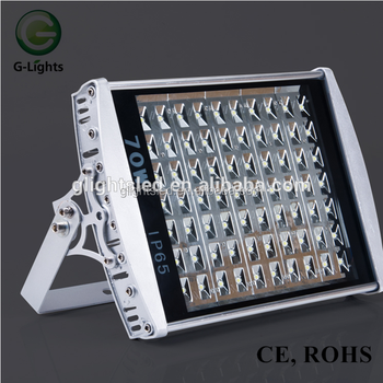 CE RoHS 70w Outdoor Waterproof IP65 LED Flood Light Tunnel Light