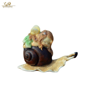 Wholesale Hot Sale Home Garden Resin Craft Gift Ornament Statue Miniature Cheap Garden Fairy Figurines