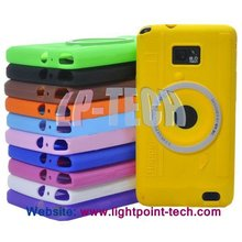 Wholesale Camera Silicone Case Cover For Samsung Galaxy s2 i9100