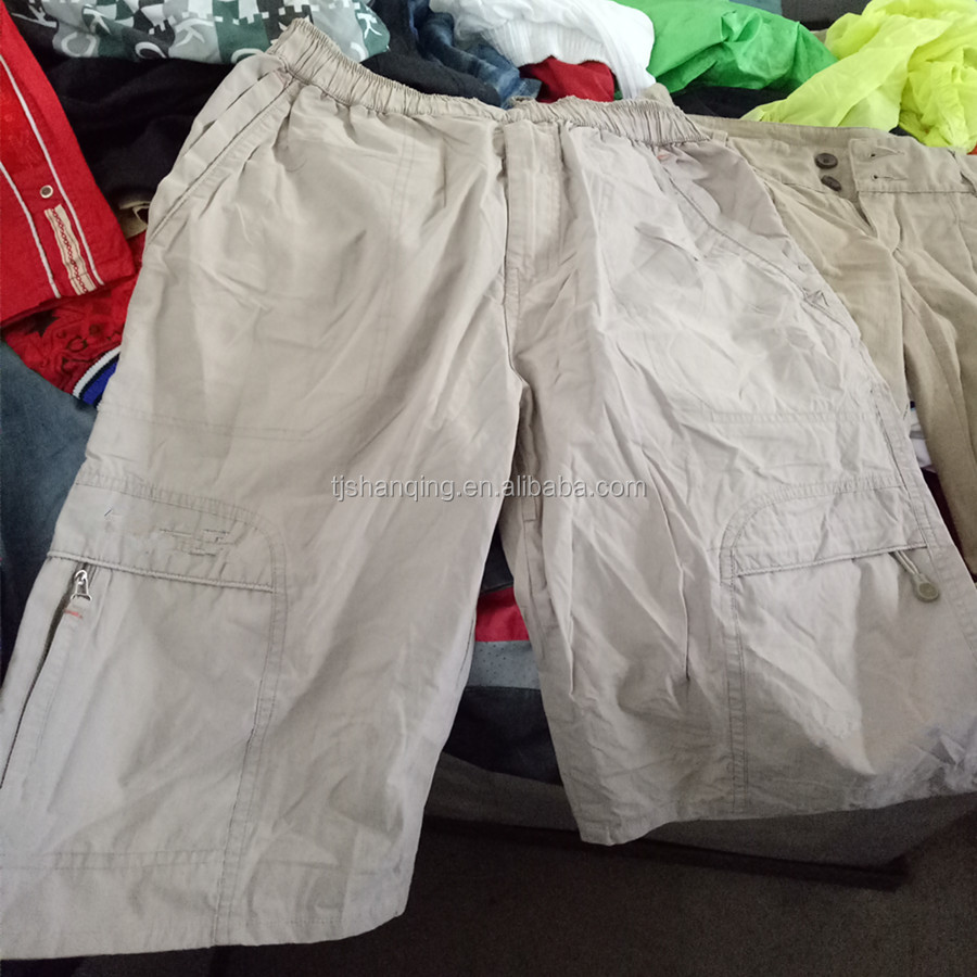 used clothes/used men cheap short pants