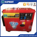 5Kva Silent Air cooled Portable Generator