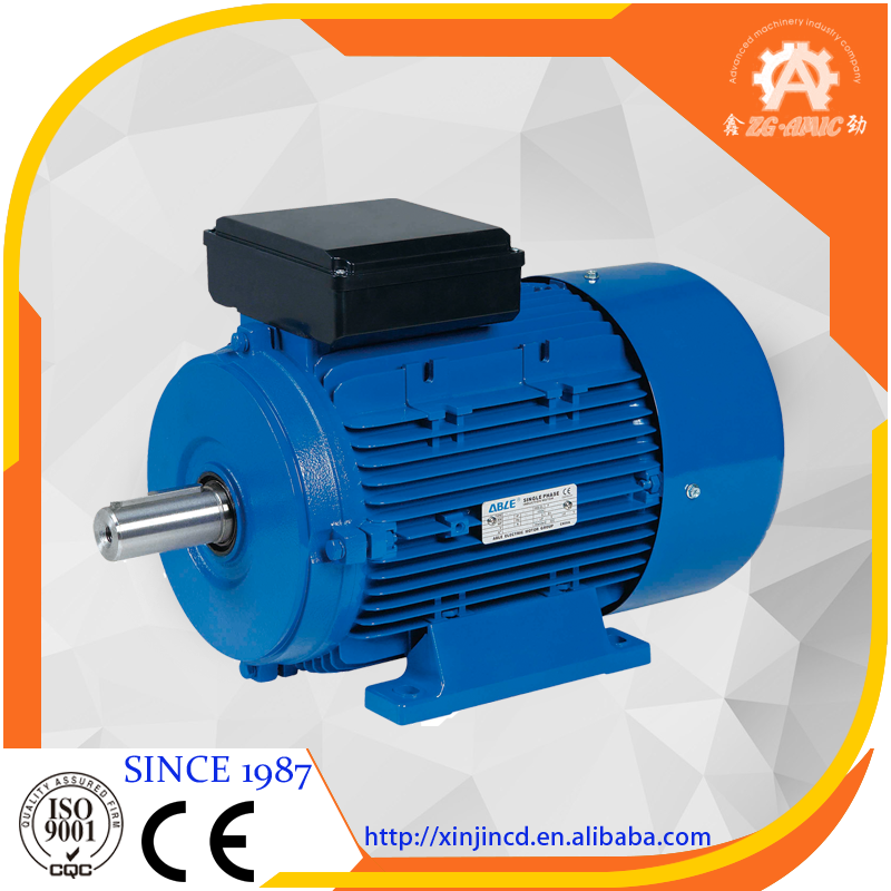 High quality ML series IEC standards single phase 220V, 240V capacitor start electrical induction motor