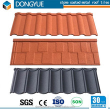 2017 new wood shake type stone coated metal roof tile/color metal roofing sheet