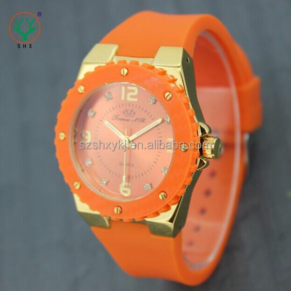 Fashional Design Japan MOVT Quartz Good Quality Silicon Watch For Kids