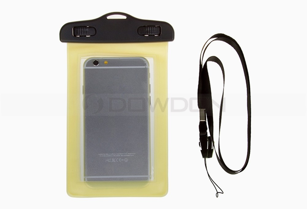 Transparent Smart Phone Waterproof Pouch 4.7 to 6 inch Cell Phone Bag
