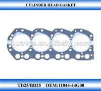 motorcycle Cylinder head gasket TD25 head engine