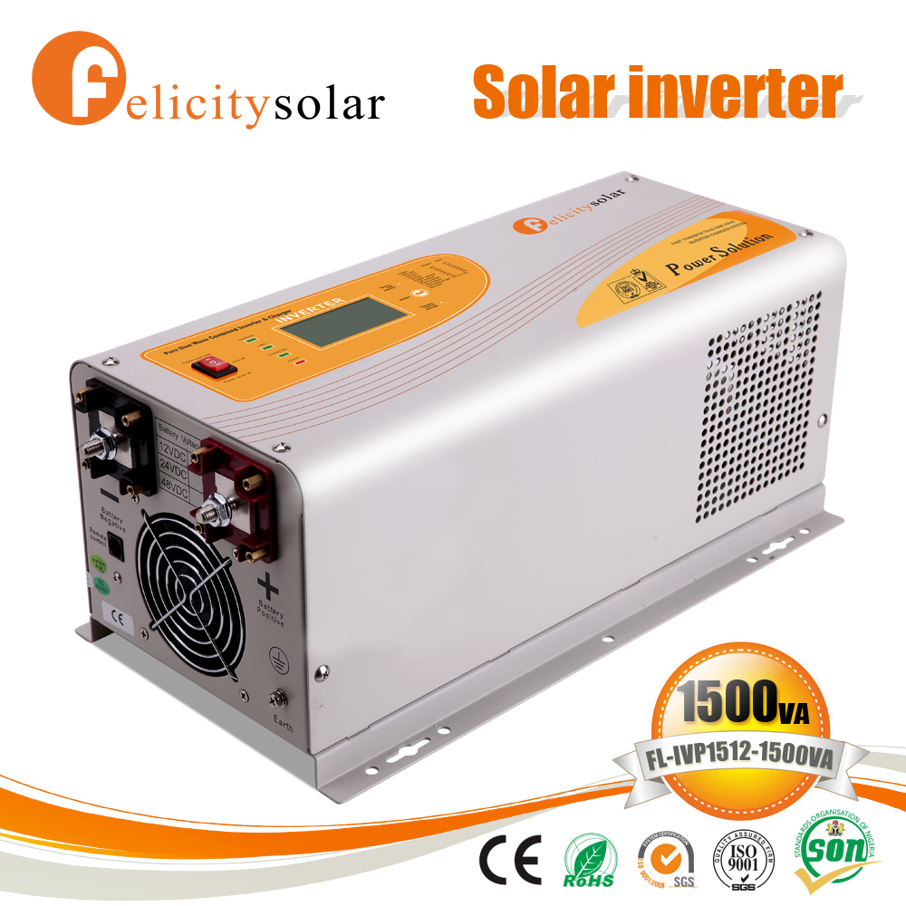 2016 New solar power converter with LCD display