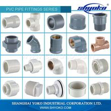 China Manufacture pvc fittings pipe fittings astm