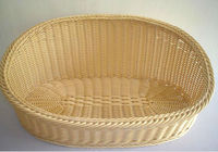 Nice Basket of Resin Rattan for Pet