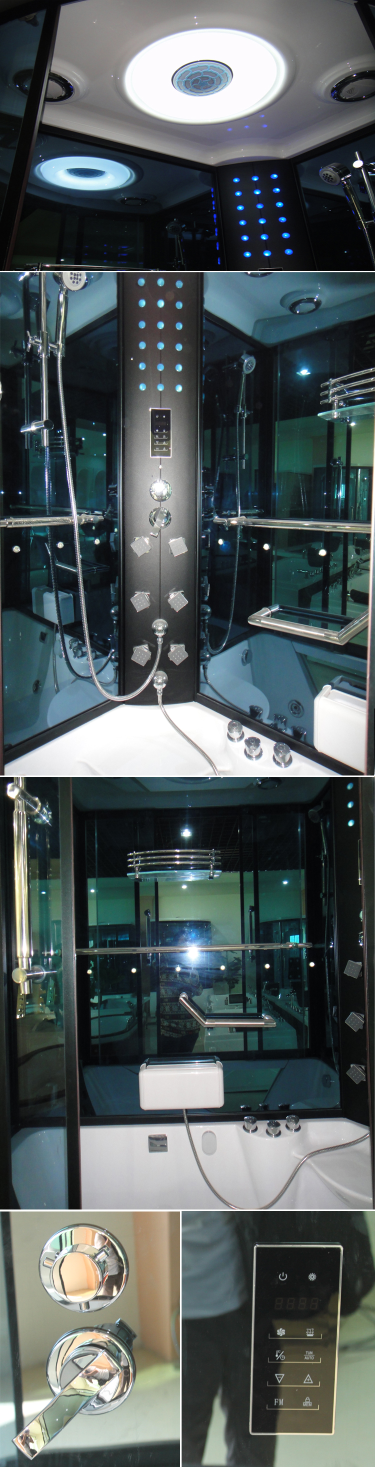 HS-SR073 shower spa enclosure/ deluxe steam room/ enclosed bath shower steam