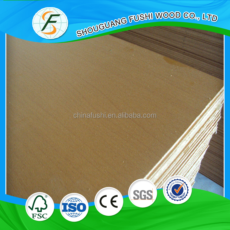 1830*3660*18 E1 CARB melamine commercial mdf wood board