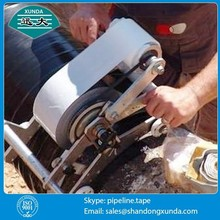 Prevents dielectric corrosion tape between buried steel pipe and soil minerals
