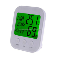 Multifunction Digital Weather Station Table Alarm Clock