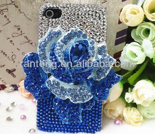 bling 2014 fashion mobile rhinestone phone case for iphone 4/4s/5/5s