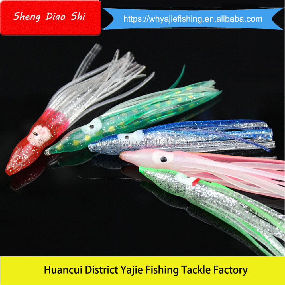 8CM Soft Fishing Lures Wholesale Topwater Octopus Fishing Lure