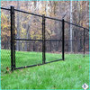 High quality PVC coated Chain Link Fence&gate made in china