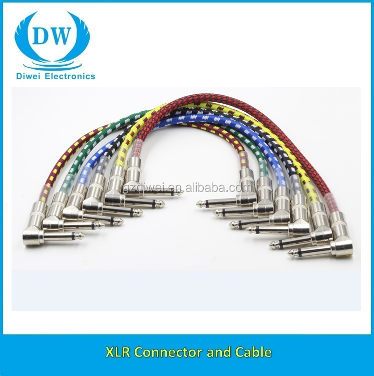6.35mm Mono Male Cable Wire for Computer Mixer