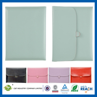 C&T Sublimation wallet slim pu leather for ipad air colorful case