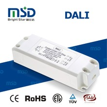 ce rohs dali strip lamp power supply, white led driver,plastic cover display 60W LED Lighting driver