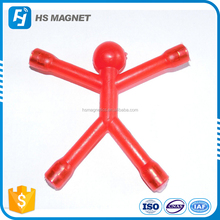 High Quality Plastic Q-man Magnets and Magnetic Q-man