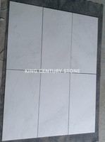 305*610 mm statuary white cheap marble stone tile