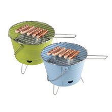 Mini Bucket Shape Portable Charcoal BBQ Grill/Charcoal Bucket BBQ Stove With Legs